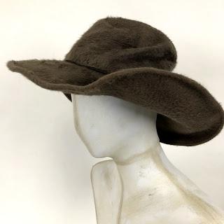Ellen Christine Millinery Brown Hat