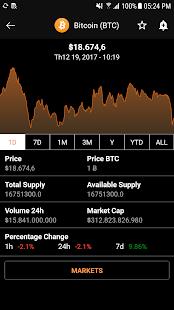 Coin Ranking - Coin Alert - CoinMarketCap & more - náhled