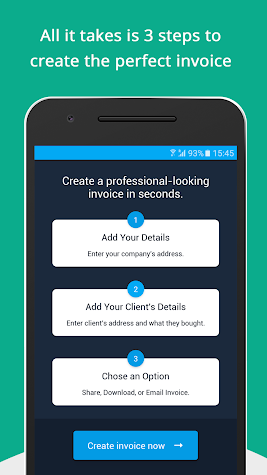Free Invoice Generator - Zoho Screenshot