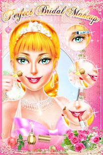 MakeUp Salon Princess Wedding - Girls Game - náhled