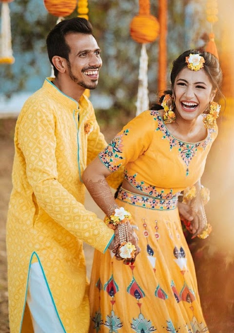 Cricketer Yuzvendra Chahal marries Dhanashree Verma a Fairy Tale Wedding