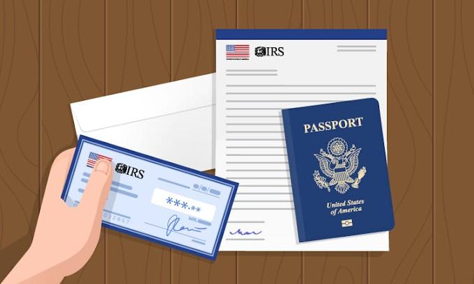 En la Embajada de los Estados Unidos en Santo Domingo están los cheques del Servicio de Impuestos Internos (IRS)