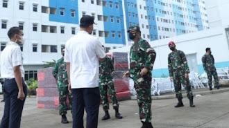Panglima TNI Kembali Sidak Rusun Nagrak