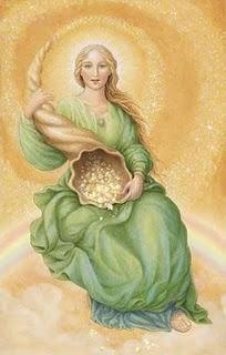 Goddess Abundantia Image