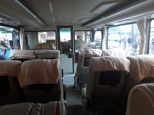 Interior Bus Sinar Jaya