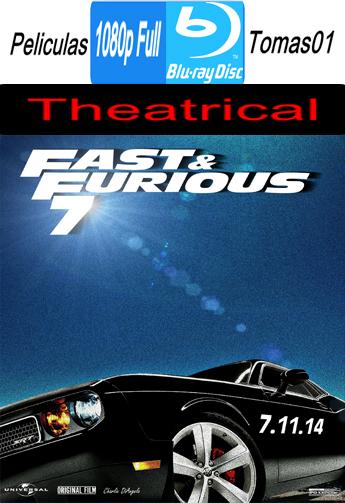 Rápidos y Furiosos 7 (Fast & Furious 7) (Theatrical) (2015) BRRipFull 1080p