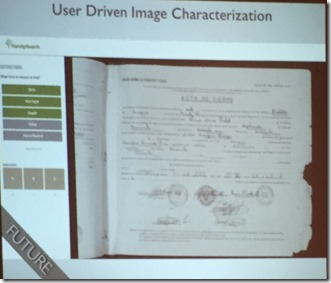 User driven image characterization
