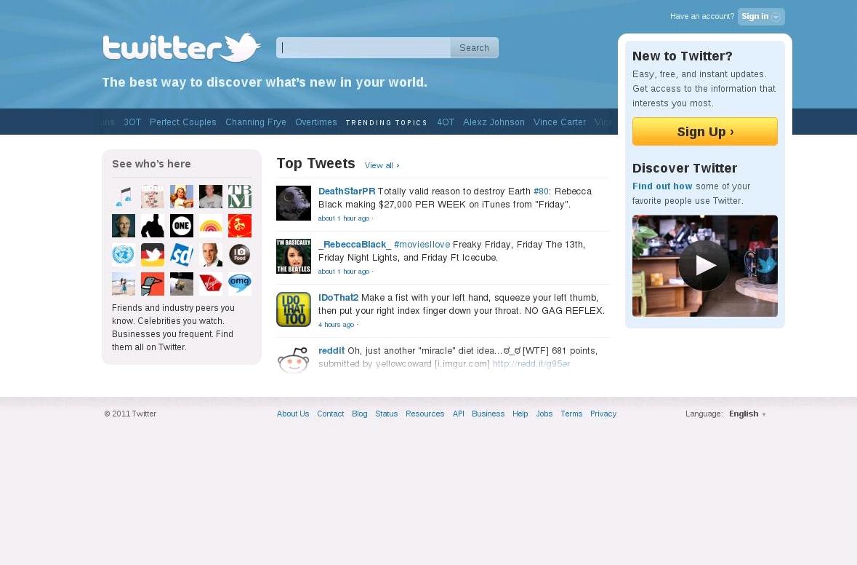 Знакомства твиттер