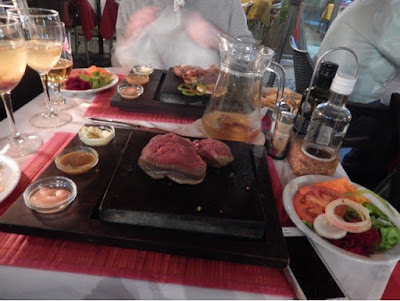 Top 10 things to do in Madeira - Steak on a stone