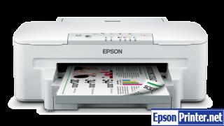 How to reset Epson WorkForce WF-3011 printer
