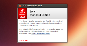 Oracle Java 7u40 Ubuntu Linux