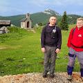 Dražen Pulig i Karlo Lulić na početku Velebitskog planinarskog puta