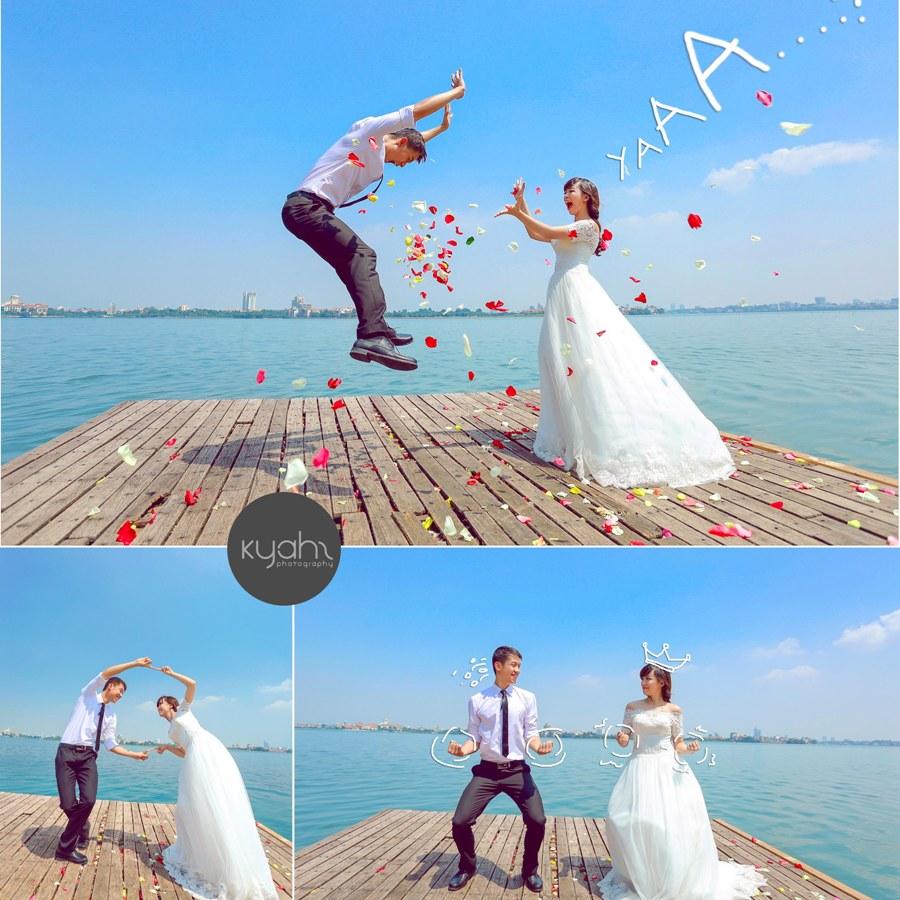 Ảnh cưới độc đáo