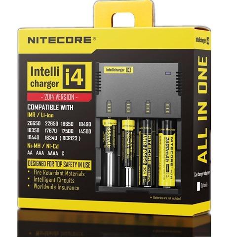 71QDOfRnA2L. SL1300 thumb%25255B2%25255D - 【バッテリー/充電器】「NITECORE ナイトコア Intellicharger i4」レビュー。4本同時充電可能、コスパに優れたバッテリーチャージャー。