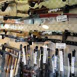 samurai swords at asakusa in Asakusa, Tokyo, Japan