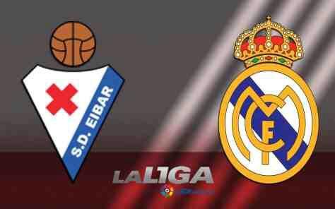 Eibar vs Real Madrid La Liga Match Highlight
