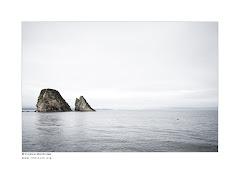 Dans le gris de la côte nord