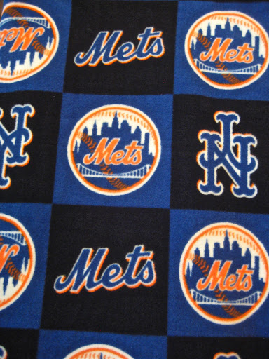 New York Mets Cloth Diaper