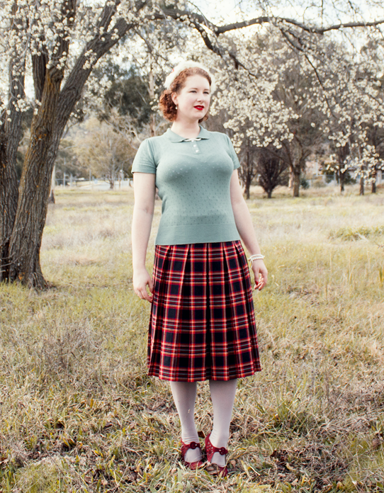 1940's style for autumn or spring | Lavender & Twill