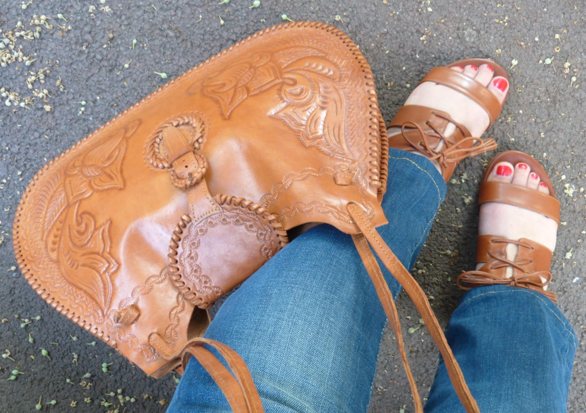 sandales Ulysse, Sezane