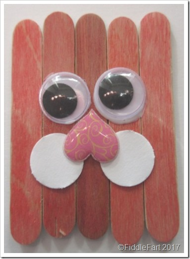 Popsicle Easter Bunny Fridge Magnet 3