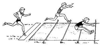 Студопедия — Подвижные игры с элементами прыжков в длину