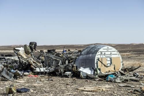 Xac may bay Metrojet o ban dao Sinai Ai Cap Anh Reuters