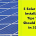 Solar Energy Tips You Should Know About