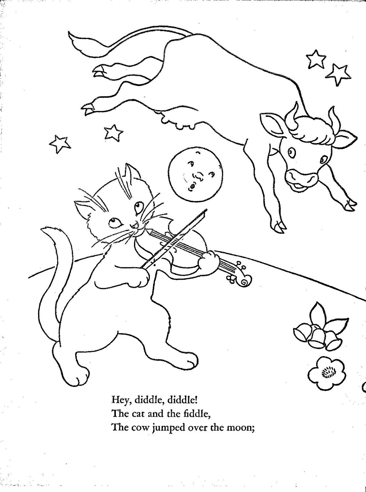 Desenhos para Colorir: Mamãe Ganso