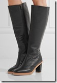 See by Chloe Black Leather Knee Boots