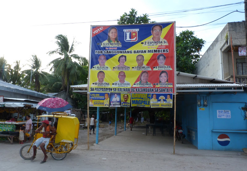 Pendant les élections. Bantayan