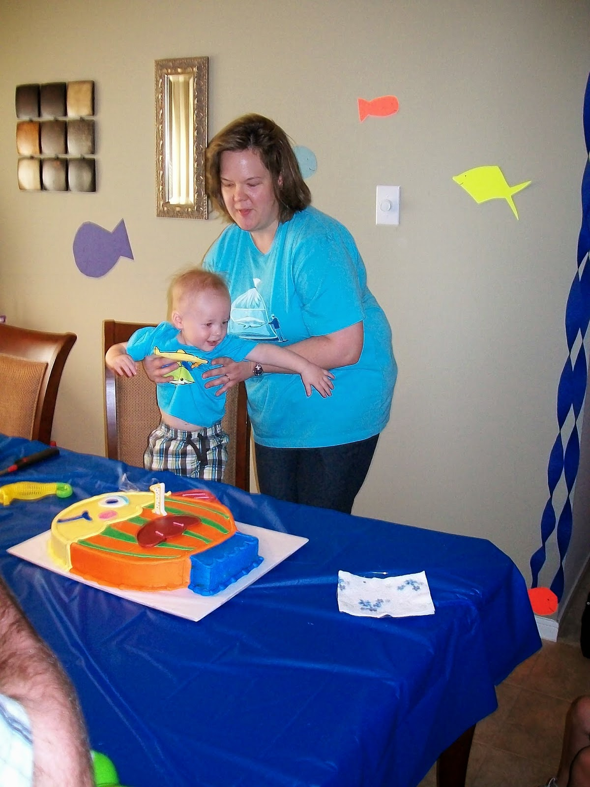 Marshalls First Birthday Party - 100_1408.JPG