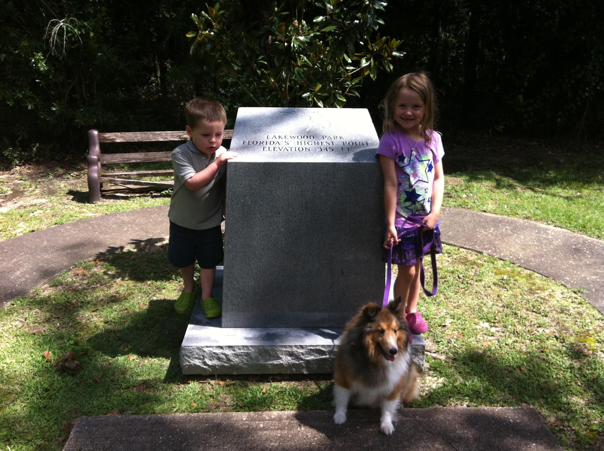 Kids at Britton Hill