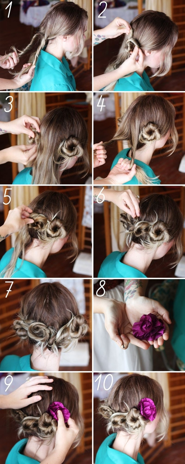 Tutorial On How To Style Your Hair _ For Summer 2017 2
