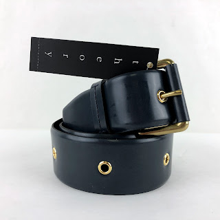 Theory NEW Saki Navy Belt