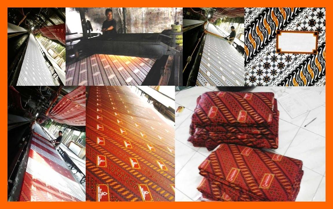 Printing Batik Motif Parang