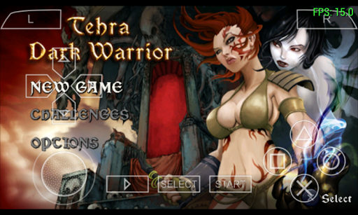 Download Tehra Dark Warrior For PPSSPP Update Game Android