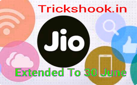 Reliance Jio 100 Plan : Jio Free service Extended till 30 June