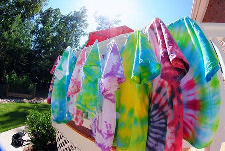 Customização com Tie-Dye