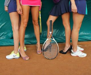 Теннис и хризантемы