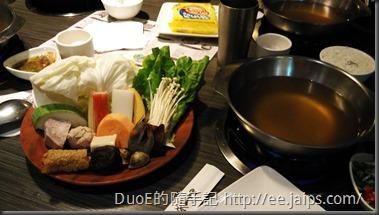 鼎盛十里鍋物-菜盤