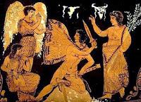 Ερινύες στην Ελληνική μυθολογία ήταν μυθικές χθόνιες θεότητες που κυνηγούσαν όσους είχαν διαπράξει εγκλήματα κατά της φυσικής και ηθικής τάξης των πραγμάτων.