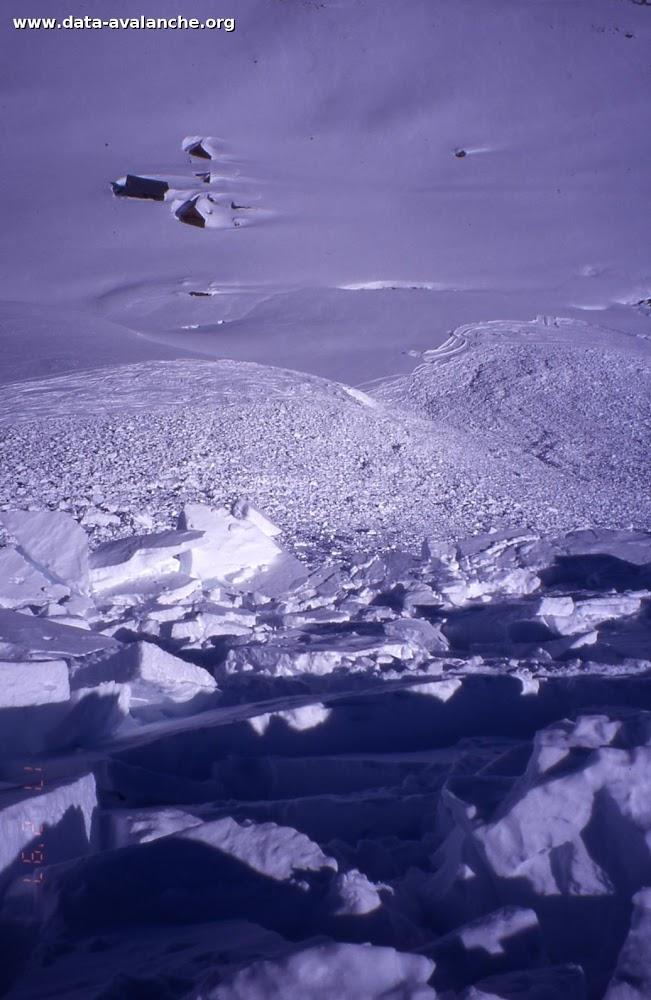 Avalanche Grandes Rousses, secteur Petit Perron, Col de la Croix de Fer - Photo 1