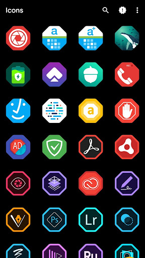 Octane icon pack screenshot 1