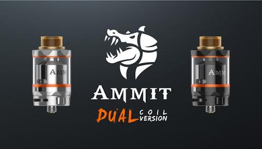 AMMIT dual coil black silver version thumb%25255B4%25255D - 【RTA】「Geekvape AMMIT Dual Coil Version RTA」ポストレスデッキ、シングル/デュアルコイル対応。6ml/3mlタンク切り替えできる万能RTA登場