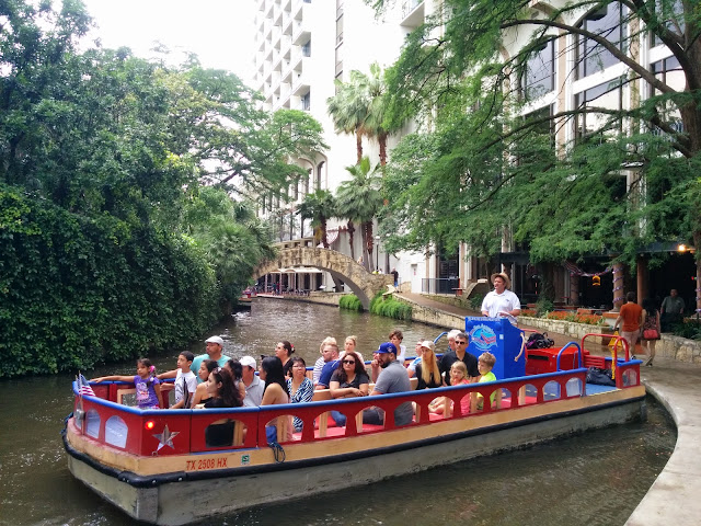 Boat Cruise on the San Antonio River