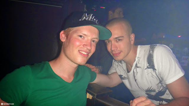 matt with Headhunterz at Footwork in Toronto, Ontario, Canada
