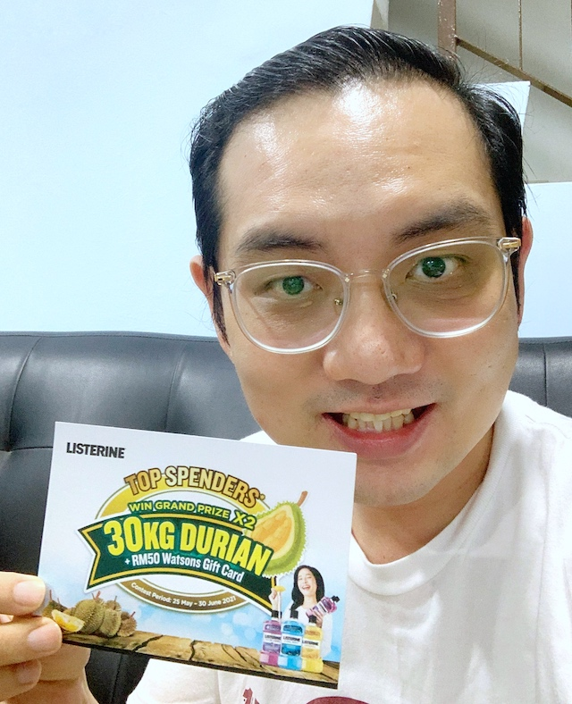 Wish I can win the 30kg Durian grand prize!
