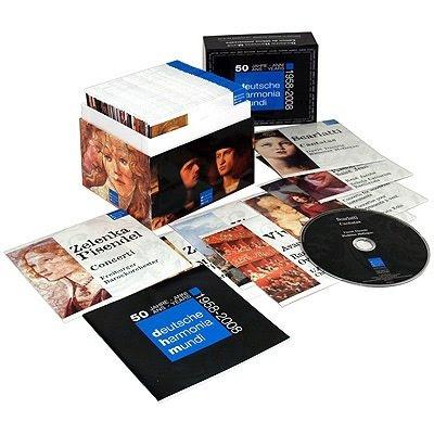 Deutsche Harmonia Mundi: 50 Years [50CDs] (1958-2008)