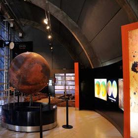 Obras de mejora del Planetario de Madrid en 2016